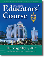 21st Annual Educators Course Cover